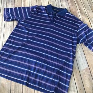 Nike Tiger Woods dri fit golf polo size large